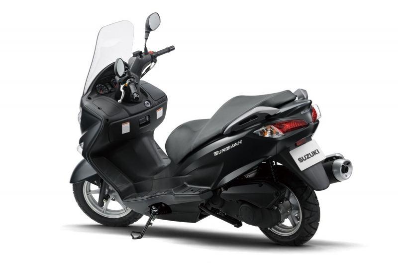 2014 Suzuki Burgman 125-200 1. İçerik Fotoğrafı