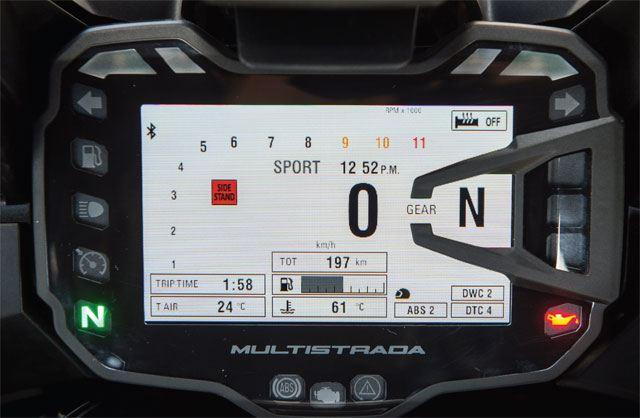 2015 Ducati Multistrada 1200 10. İçerik Fotoğrafı