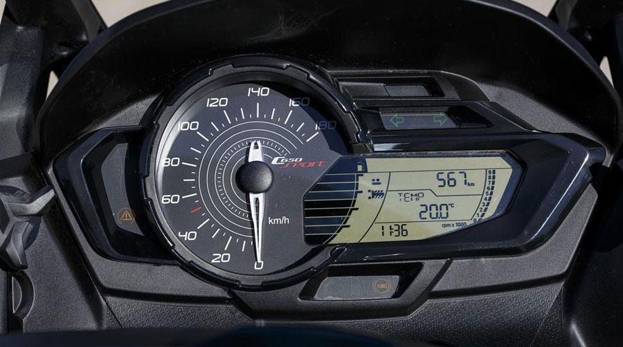 2016 BMW C 650 SPORT & C 650 GT 4. İçerik Fotoğrafı