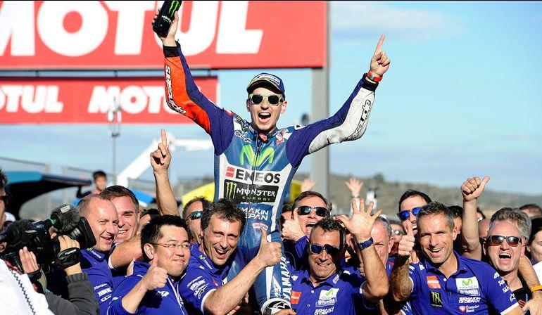 2016 MotoGP'nin Son Yarışında Lorenzo, Yamaha ile Kazandı! 3. İçerik Fotoğrafı