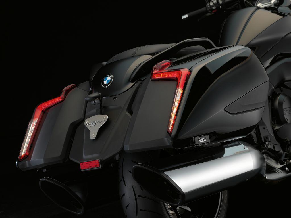 2017 BMW K 1600 B Altı silindirli koca bir dünya, yeni BMW K 1600 B 3. İçerik Fotoğrafı