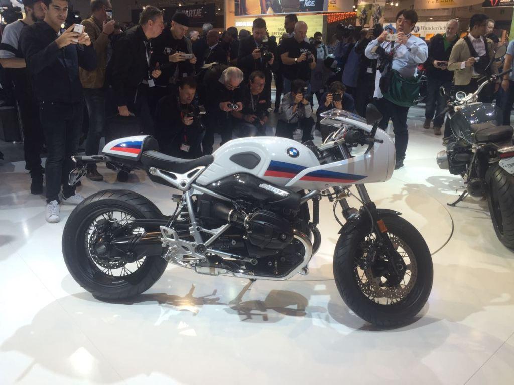2017 BMW R NineT Racer ve R NineT Pure - Intermot 2016 1. İçerik Fotoğrafı
