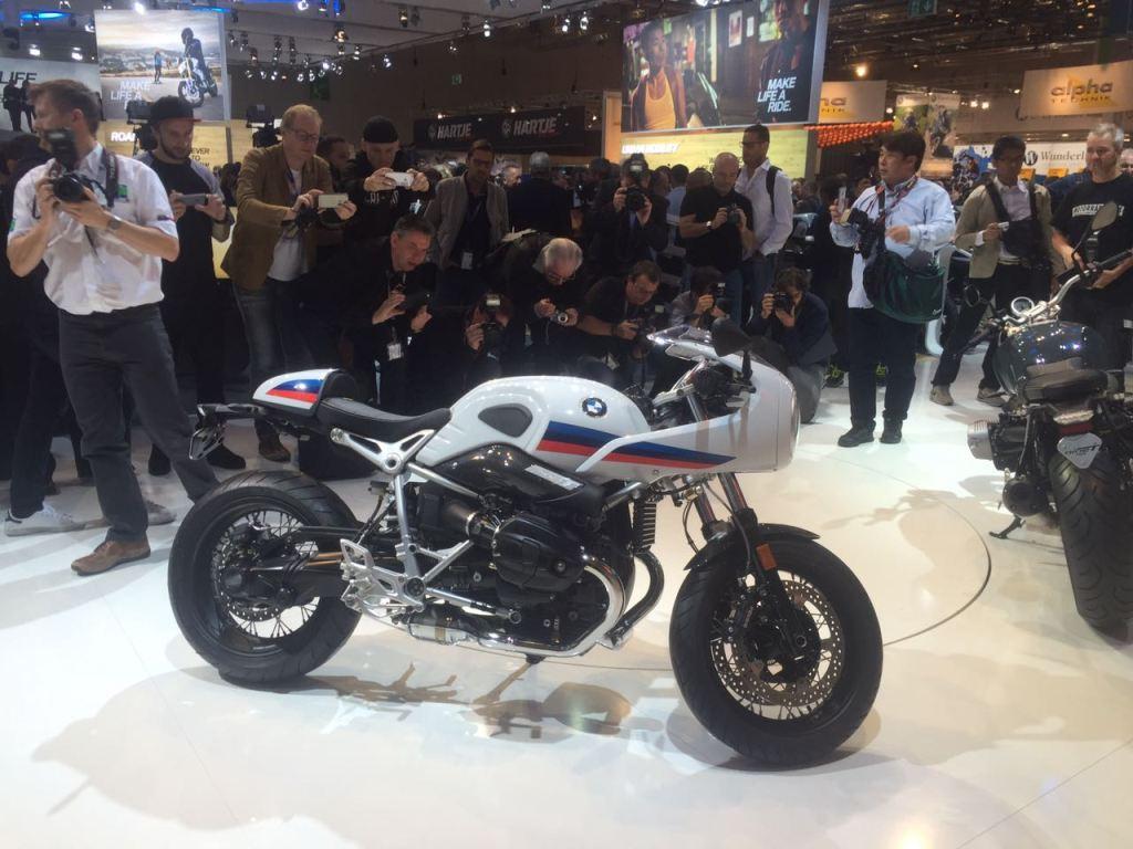 2017 BMW R NineT Racer ve R NineT Pure - Intermot 2016 3. İçerik Fotoğrafı