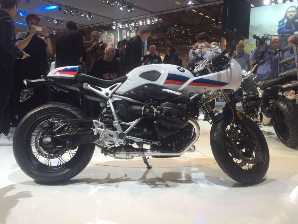 2017 BMW R NineT Racer ve R NineT Pure - Intermot 2016 6. İçerik Fotoğrafı