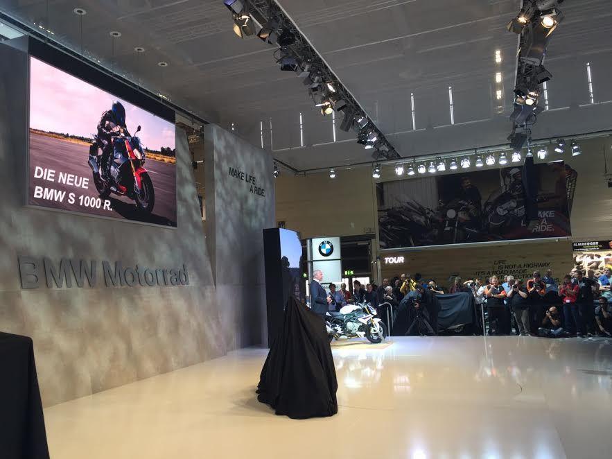 2017 BMW S 1000 R – Intermot 2016  1. İçerik Fotoğrafı