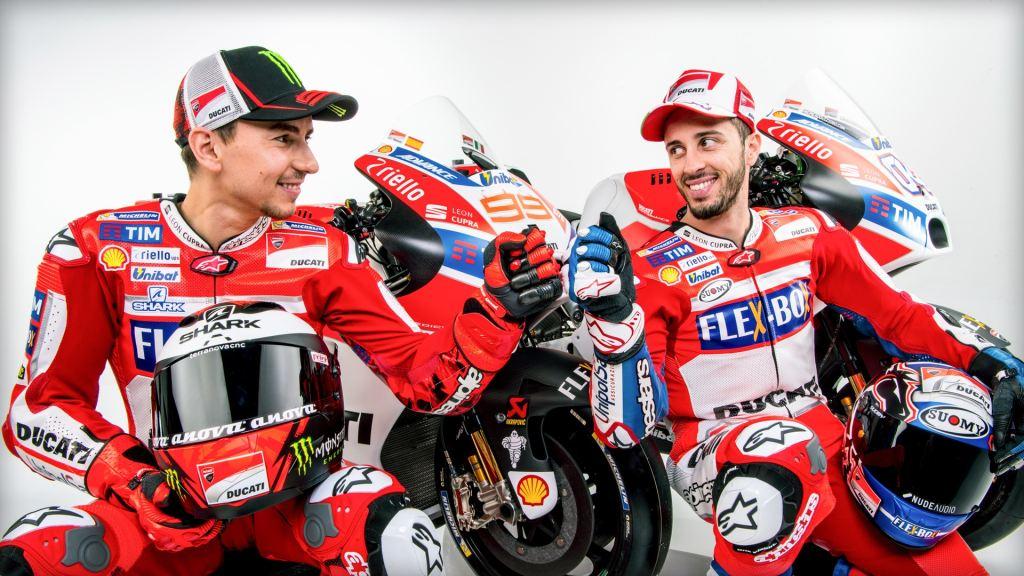 2017 Ducati MotoGP Takımı ve Desmosedici GP Tanıtımı! 1. İçerik Fotoğrafı