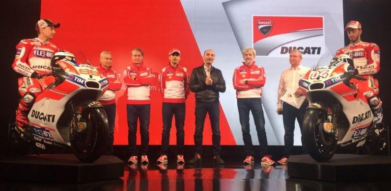 2017 Ducati MotoGP Takımı ve Desmosedici GP Tanıtımı! 2. İçerik Fotoğrafı
