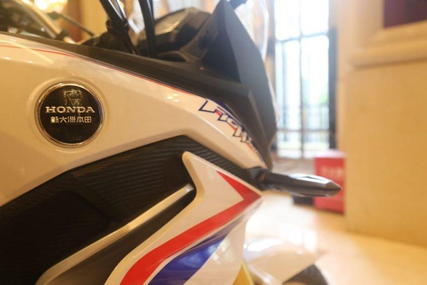 2017 Honda CBF190X, Uluslararası Çin Motosiklet Fuarı'nda! 4. İçerik Fotoğrafı