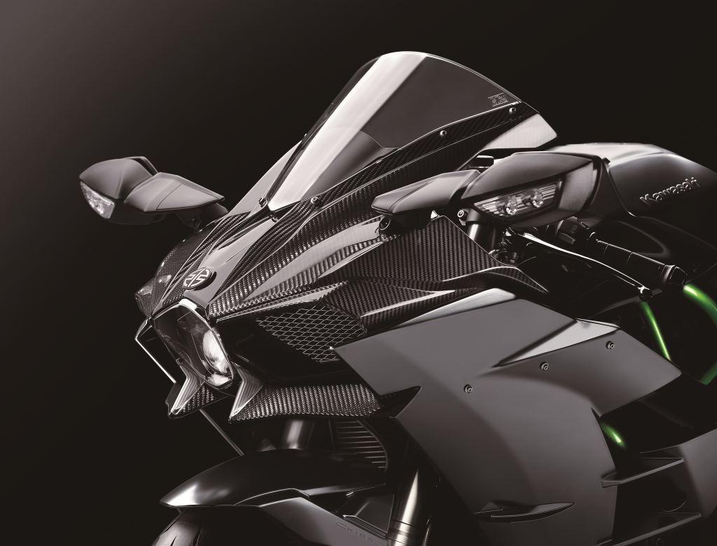 2017 Kawasaki Ninja H2 Carbon - Intermot 2016  1. İçerik Fotoğrafı