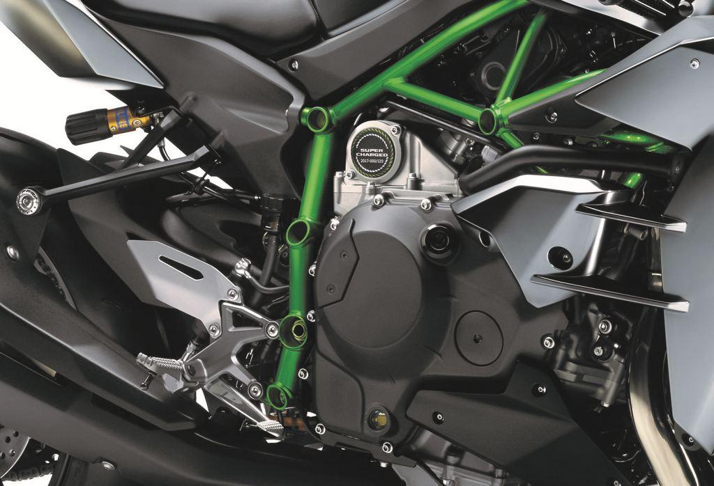 2017 Kawasaki Ninja H2 Carbon - Intermot 2016  3. İçerik Fotoğrafı