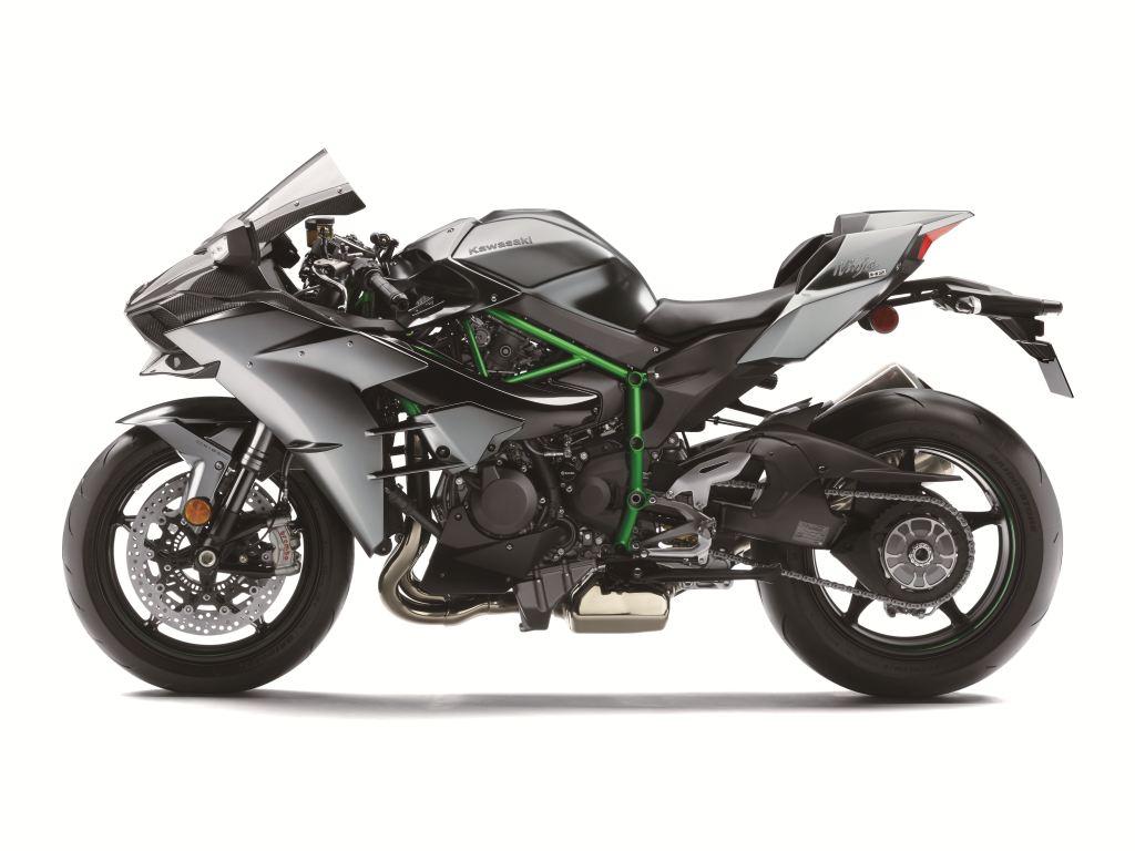 2017 Kawasaki Ninja H2 Carbon - Intermot 2016  4. İçerik Fotoğrafı