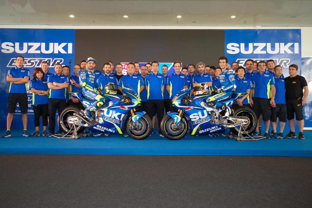 2017 MotoGP Suzuki Ecstar Takım Tanıtımı Yapıldı! 2. İçerik Fotoğrafı
