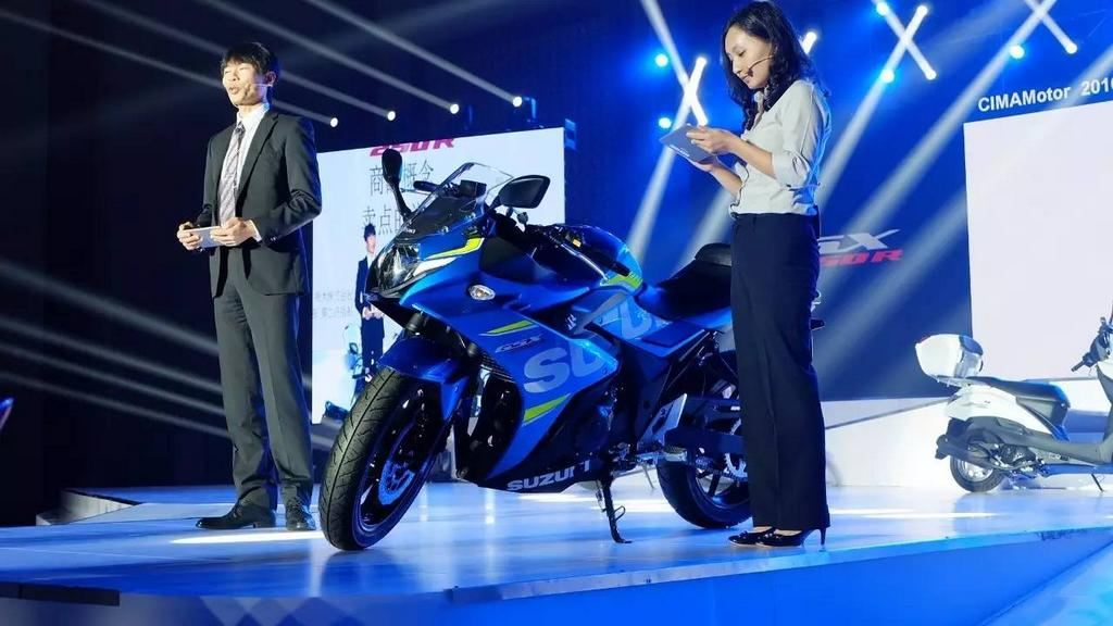 2017 Suzuki GSX-250R, Uluslararası Çin Motosiklet Fuarı'nda! 1. İçerik Fotoğrafı