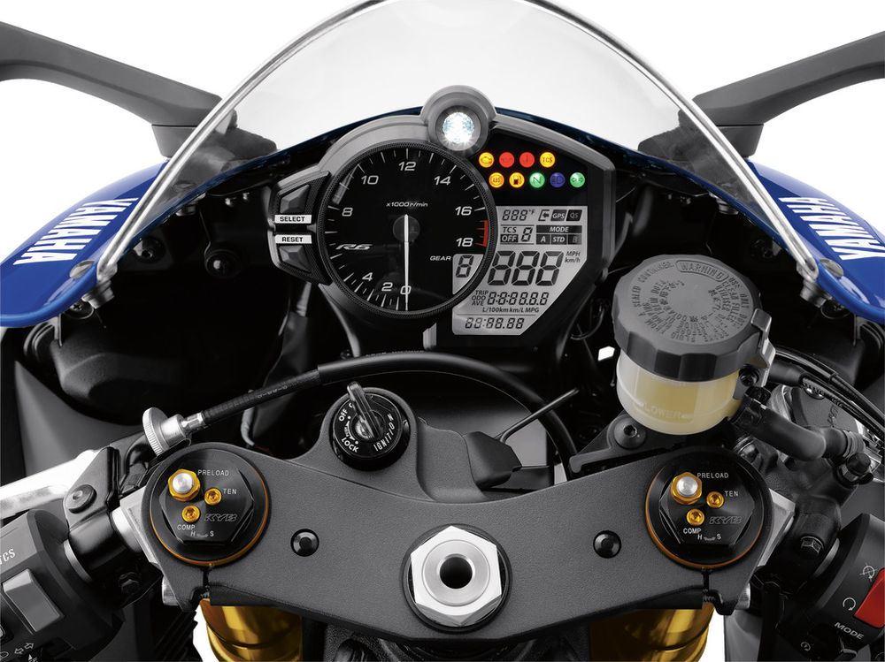 2017 Yamaha R6 AIMExpo fuarında tanıtıldı 7. İçerik Fotoğrafı