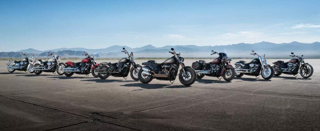 2018 Harley-Davidson Softail, Touring ve 115. Yıl Modelleri! 1. İçerik Fotoğrafı