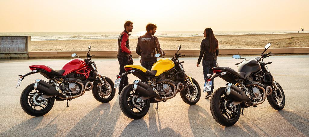 25. Yıl Dönümü Onuruna Yeni Ducati Monster 821!  1. İçerik Fotoğrafı