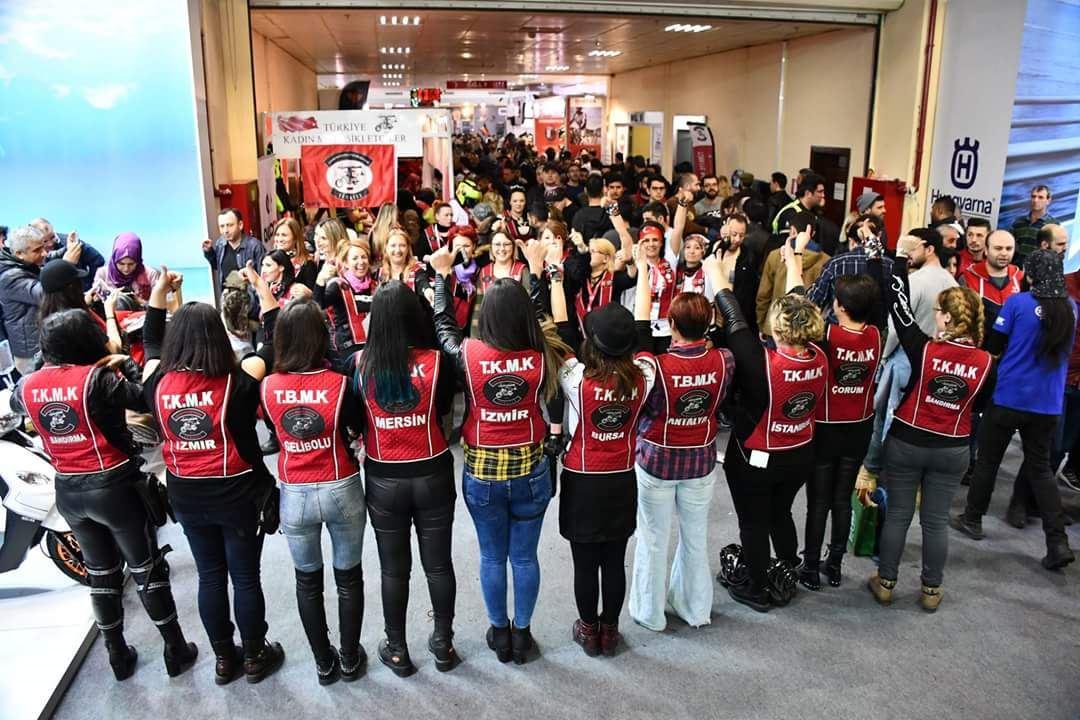 8 Mart Dünya Emekçi Kadınlar Günü Sürüşü 3. İçerik Fotoğrafı