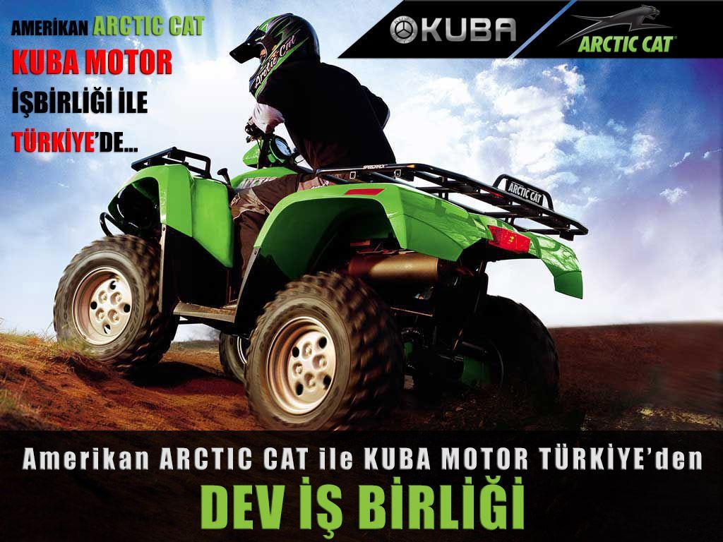 Amerikan Arctic Cat Kuba Motor ile Türkiye'de! 1. İçerik Fotoğrafı