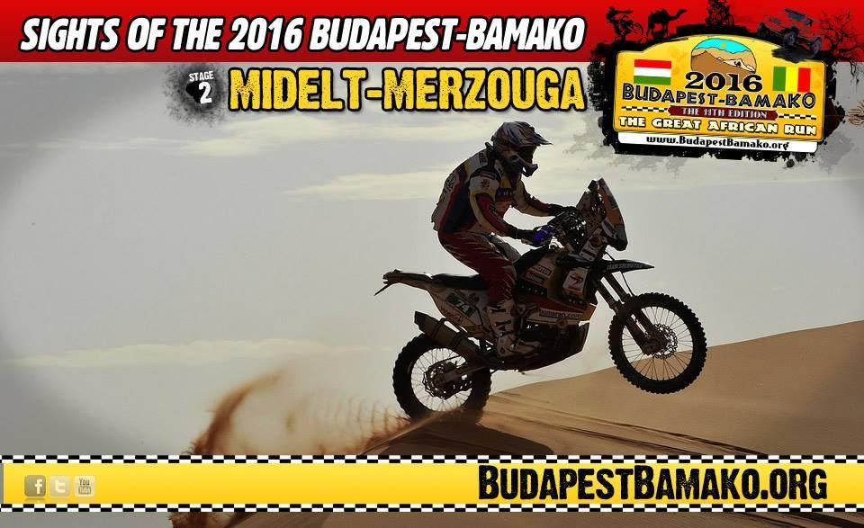 Budapeşte – Bamako Ralli 2016: Amatörler için Dakar Ralli 1. İçerik Fotoğrafı