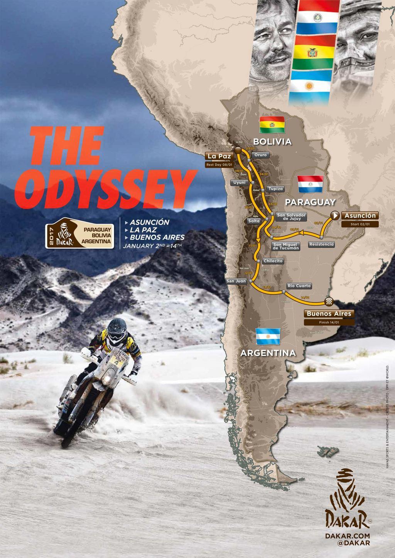 Dakar 2017 Rotası Belli Oldu 1. İçerik Fotoğrafı