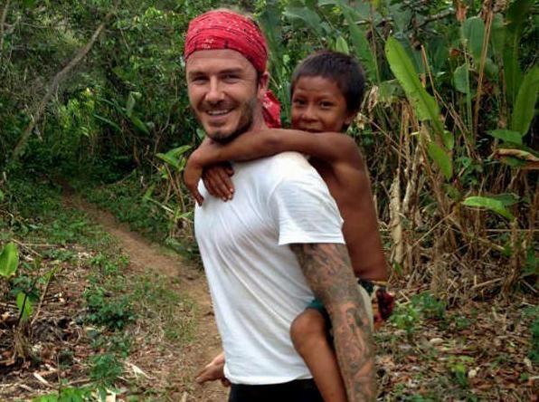 David Beckham Motosikleti ile Amazon Ormanlarını Geçecek… 2. İçerik Fotoğrafı