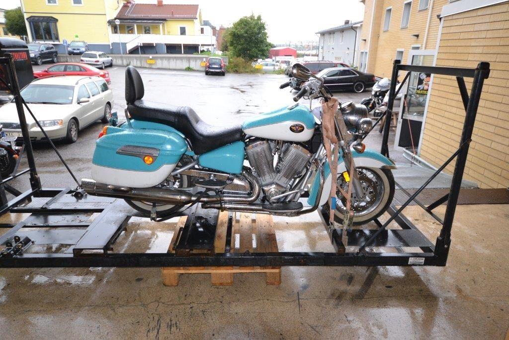 Donmuş Motosiklet 4 Yılın Ardından Hayata Döndürüldü 1. İçerik Fotoğrafı