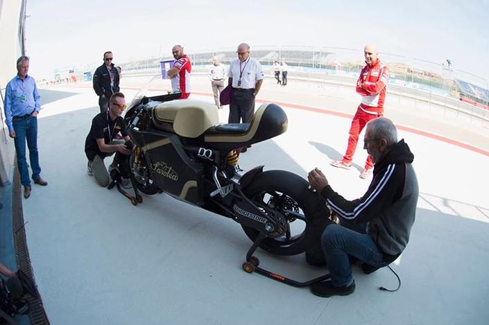 Dorna Sports'tan, Elektrikli MotoGP Yarış Motosikleti Testi!  2. İçerik Fotoğrafı