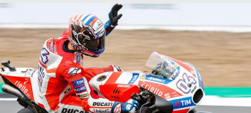 Dovizioso, Silverstone'da Şampiyona Liderliği İçin İş Başında! 1. İçerik Fotoğrafı