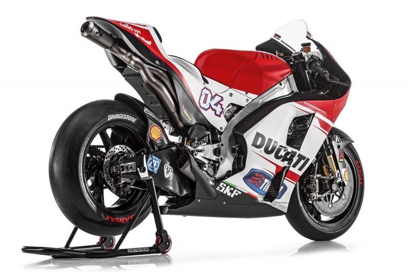 Ducati GP15 ve MotoGP Takımı 1. İçerik Fotoğrafı