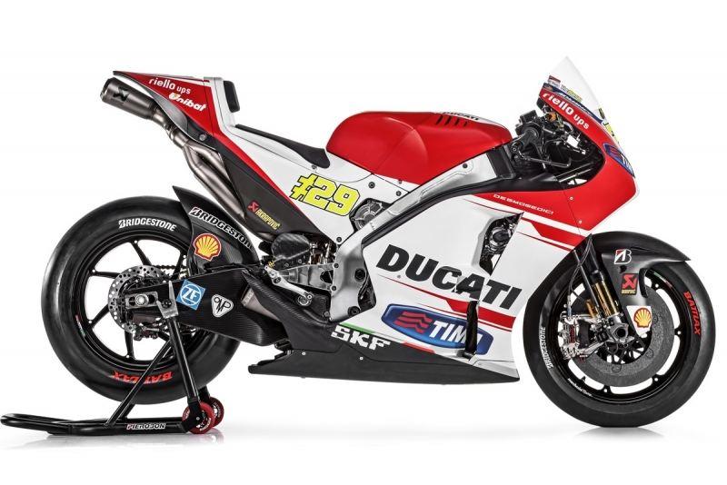 Ducati GP15 ve MotoGP Takımı 2. İçerik Fotoğrafı