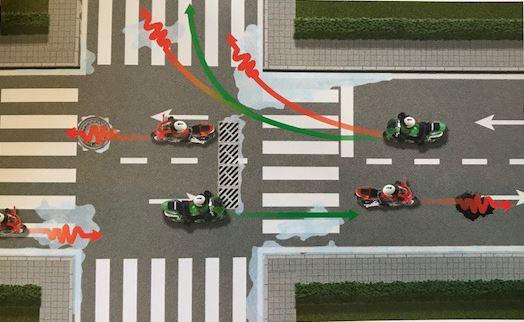 En Yaygın 10 Motosiklet Kazasını Nasıl Önlersiniz? 1. İçerik Fotoğrafı