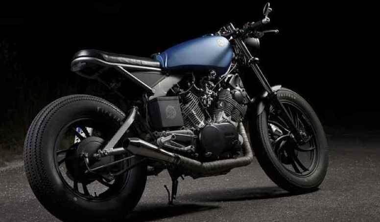Espresso Racer'dan Yamaha XV750 1. İçerik Fotoğrafı