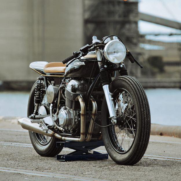 Glory Road Motorcycle's Custom CB750 2. İçerik Fotoğrafı