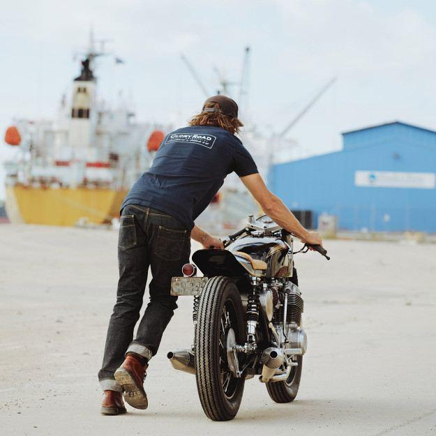 Glory Road Motorcycle's Custom CB750 4. İçerik Fotoğrafı