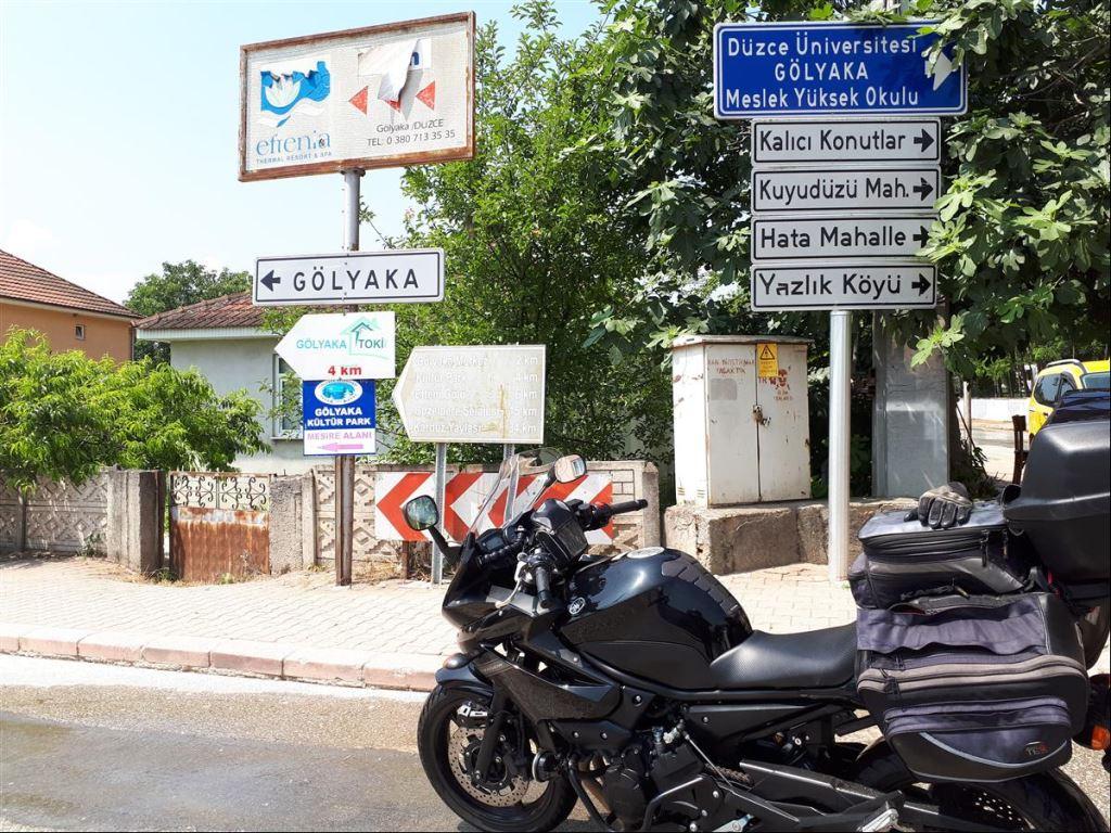 Güzeldere Şelalesine Motosiklet Gezisi Şart  1. İçerik Fotoğrafı