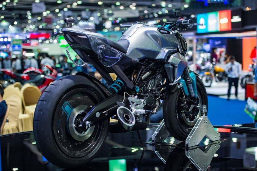 Honda 150SS Racer Consept Gerçeğe mi Dönüşüyor?  4. İçerik Fotoğrafı