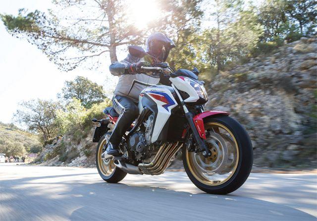 Honda CB650F 1. İçerik Fotoğrafı