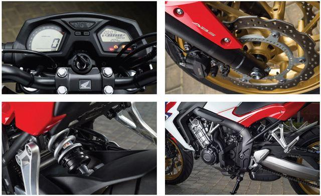 Honda CB650F 4. İçerik Fotoğrafı