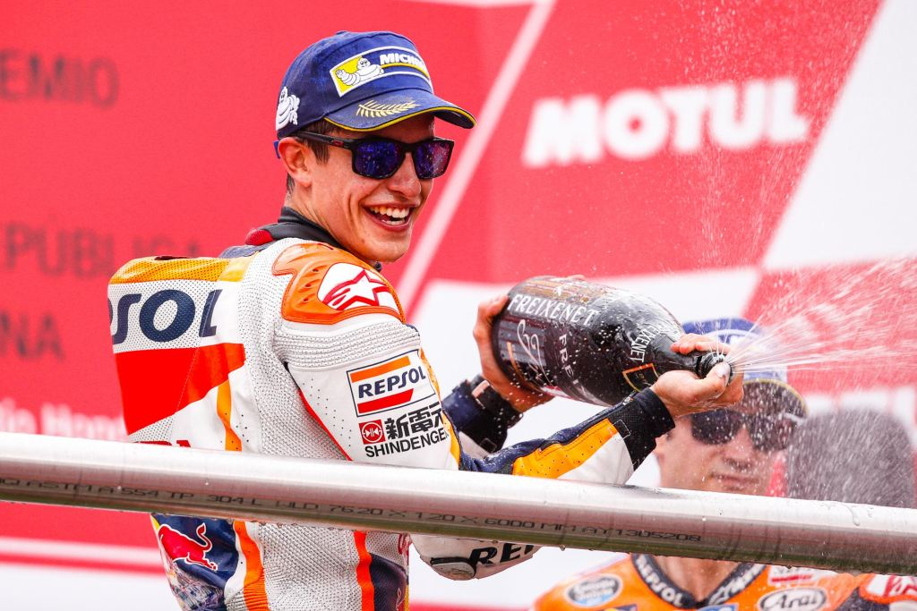 Honda'nın Marc Marquez ile Gerçekleştirdiği Röportaj!  2. İçerik Fotoğrafı