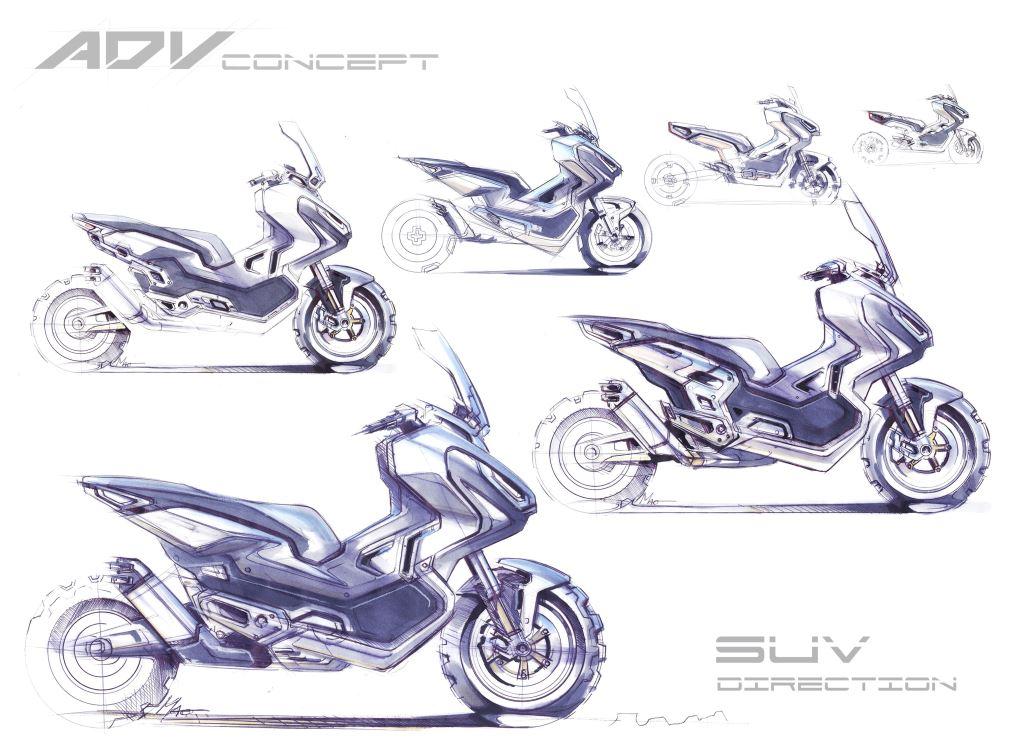 Honda X-ADV Modeli, Sanatla Buluşuyor!  1. İçerik Fotoğrafı