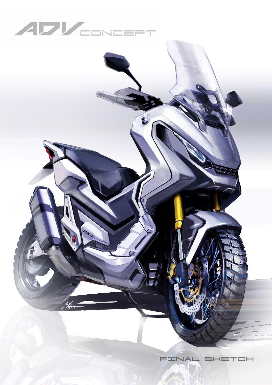Honda X-ADV Modeli, Sanatla Buluşuyor!  2. İçerik Fotoğrafı