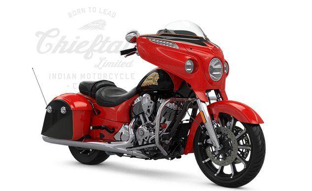 Indian Chieftain Limited için Dört Yeni Renk Alternatifi! 1. İçerik Fotoğrafı