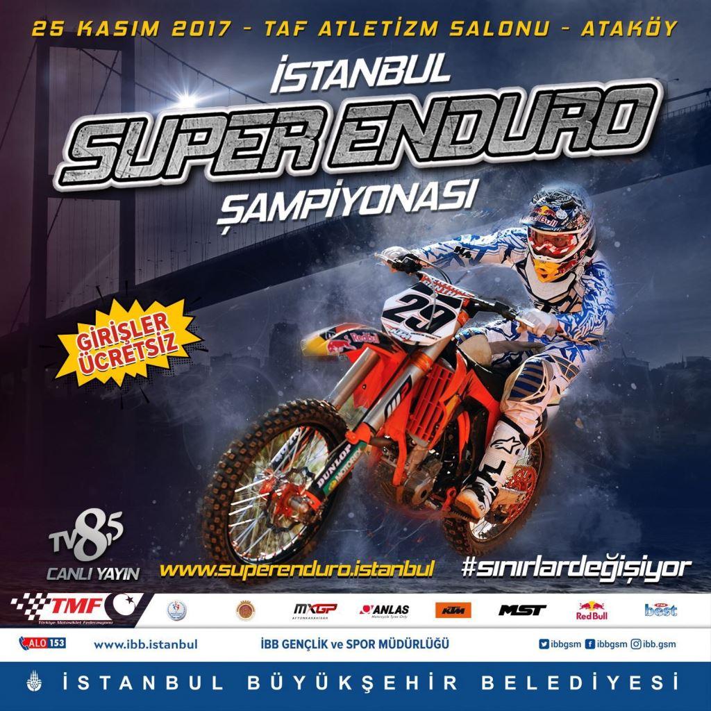 İstanbul Süper Enduro Şampiyonası 25 Kasım'da! 2. İçerik Fotoğrafı