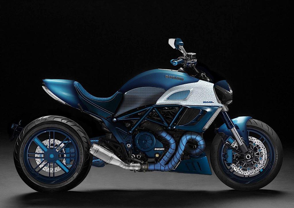 İtalyan Custom Otomobil Tasarımcısı'ndan Çılgın Ducati Diavel!  1. İçerik Fotoğrafı