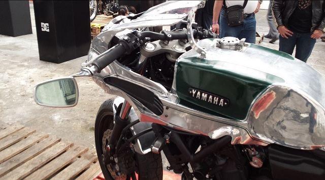 Japon Custom Üreticisinden Retro Yamaha MT-07! 3. İçerik Fotoğrafı