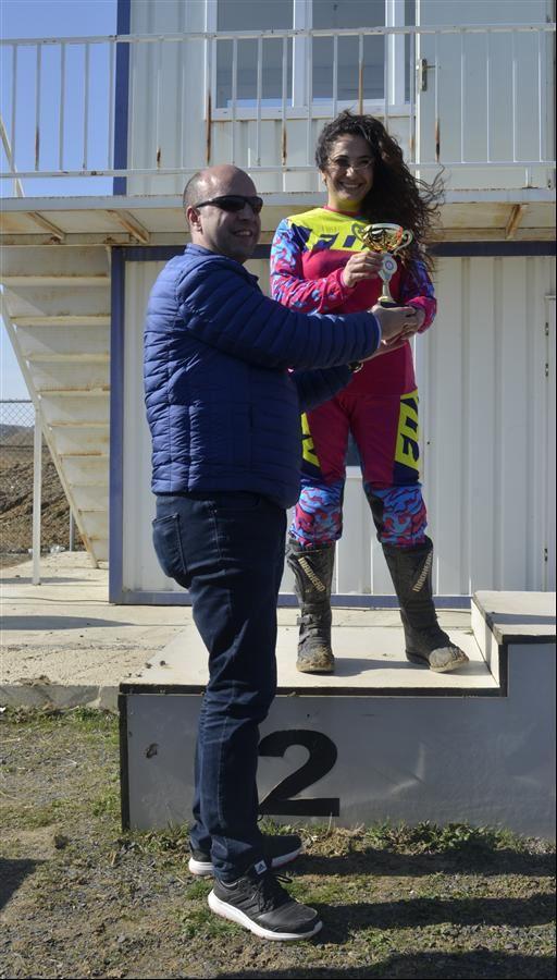 Kadın Motosiklet Yarışçısı Fulya Eda Demir  1. İçerik Fotoğrafı
