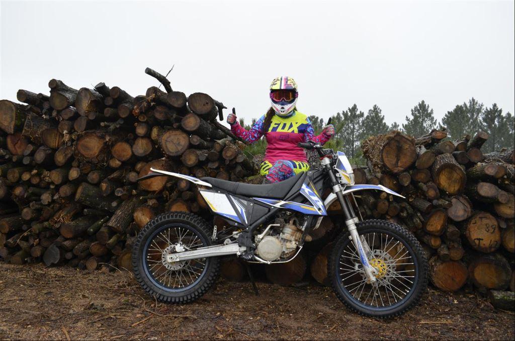 Kadın Motosiklet Yarışçısı Fulya Eda Demir  2. İçerik Fotoğrafı