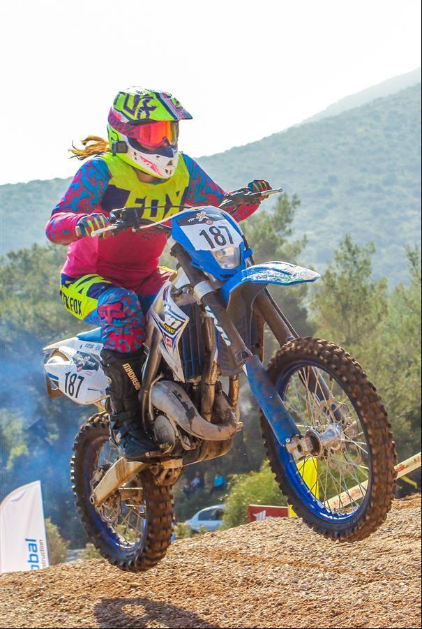 Kadın Motosiklet Yarışçısı Fulya Eda Demir  5. İçerik Fotoğrafı