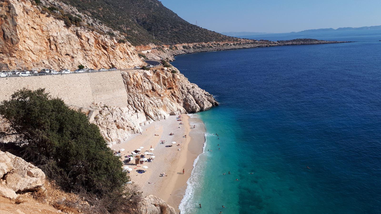 Kaş Sahil Yolu Manzaralı Bir Viraj Cennetidir 13. İçerik Fotoğrafı