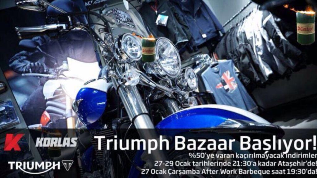 Korlas'tan, Kaçırılmayacak İkinci El Triumph Etkinliği! 2. İçerik Fotoğrafı